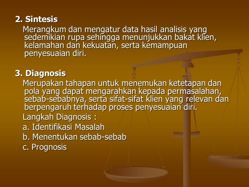 2. Sintesis