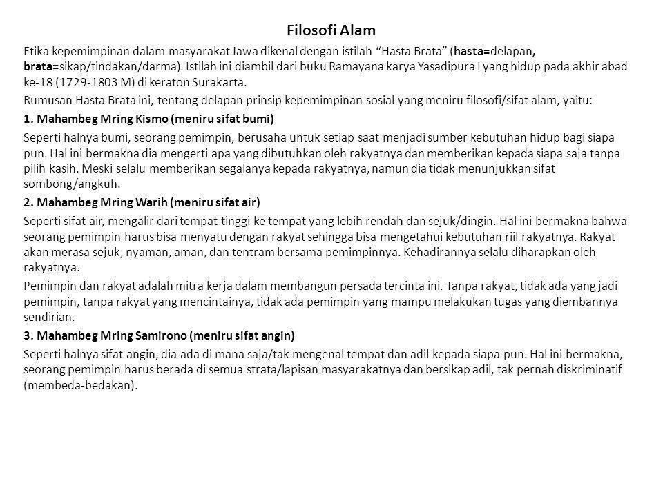 Filosofi Alam