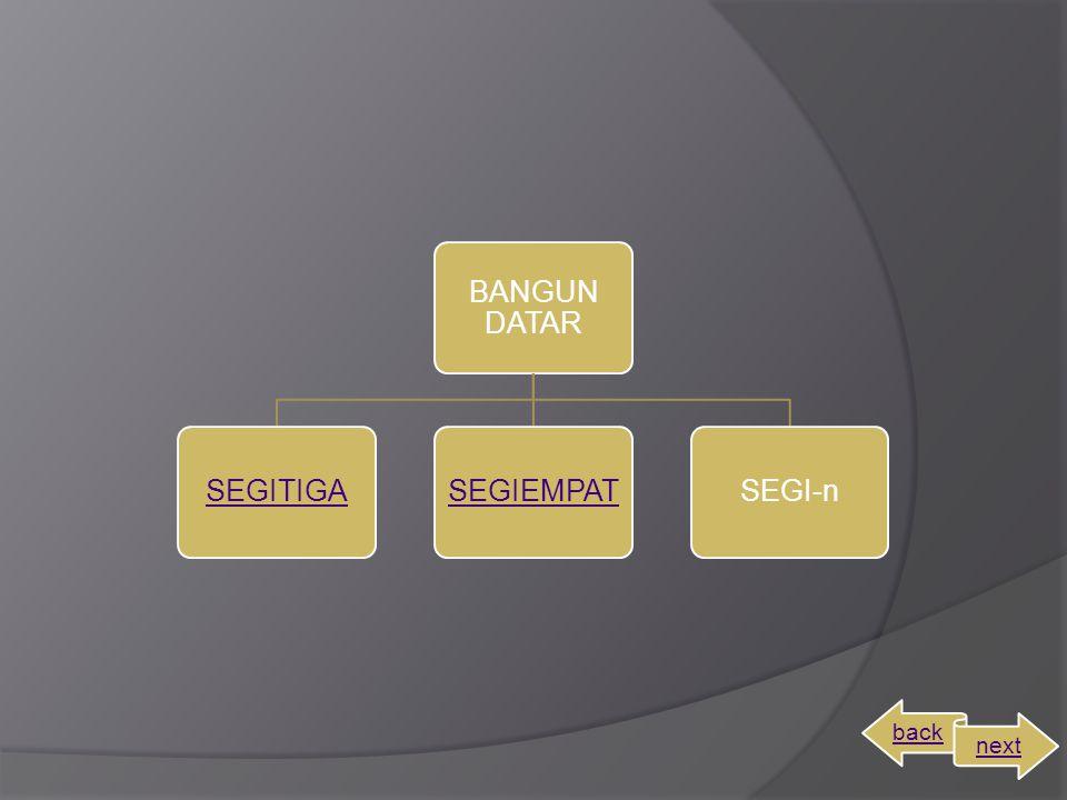 BANGUN DATAR SEGITIGA SEGIEMPAT SEGI-n back next