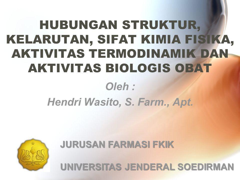 Oleh : Hendri Wasito, S. Farm., Apt.