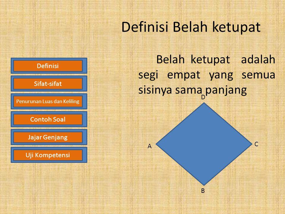 Definisi Belah ketupat