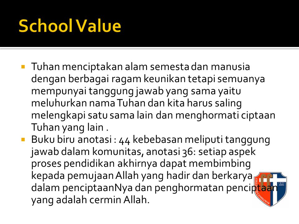 School Value