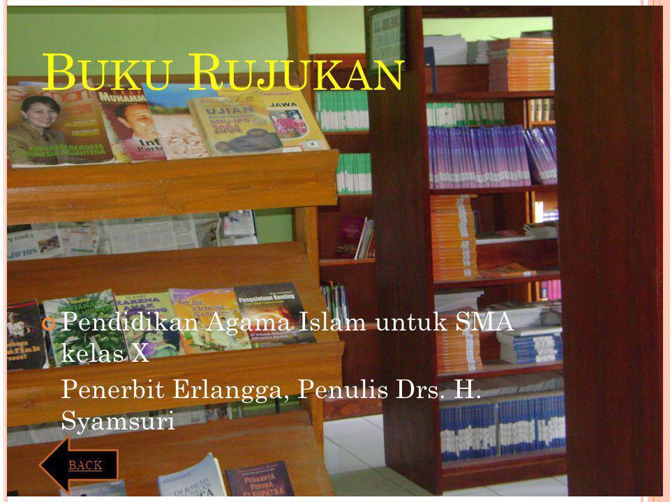 Buku Rujukan Pendidikan Agama Islam untuk SMA kelas X