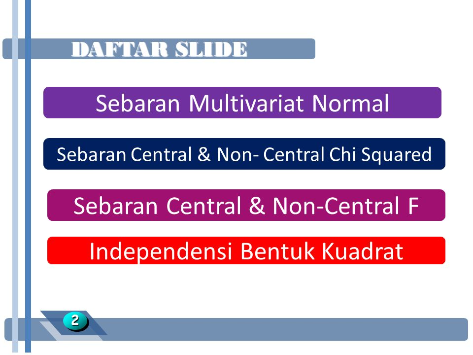 Sebaran Multivariat Normal