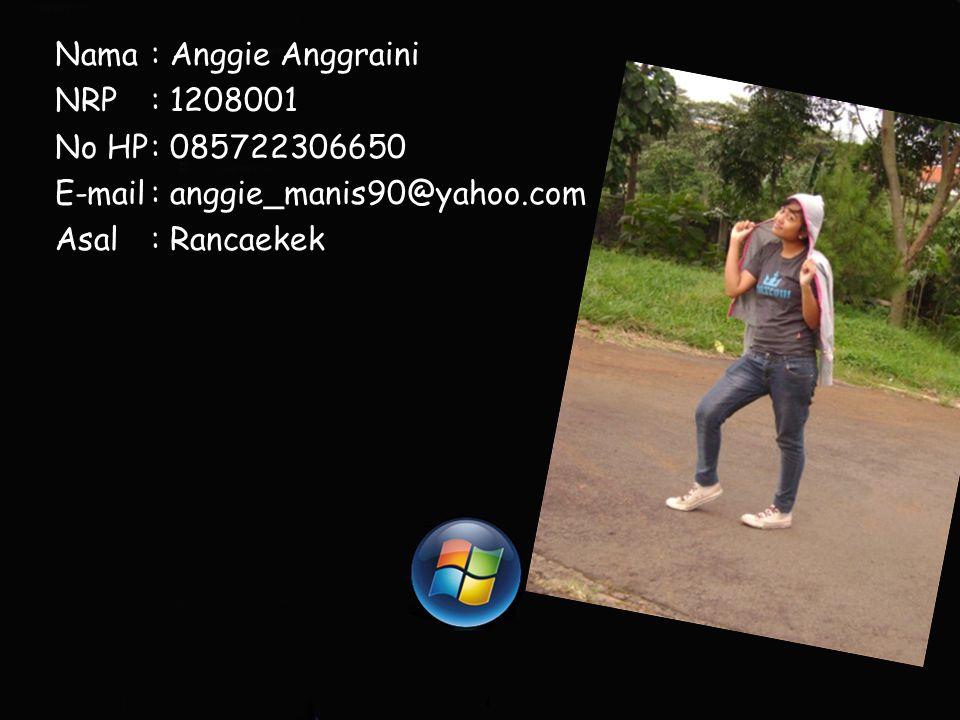 Nama : Anggie Anggraini