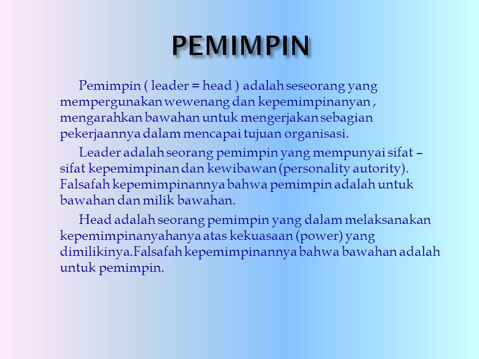 PEMIMPIN