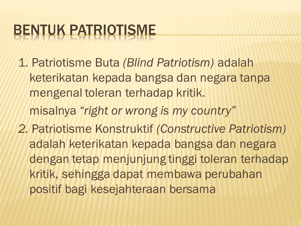 Bentuk Patriotisme