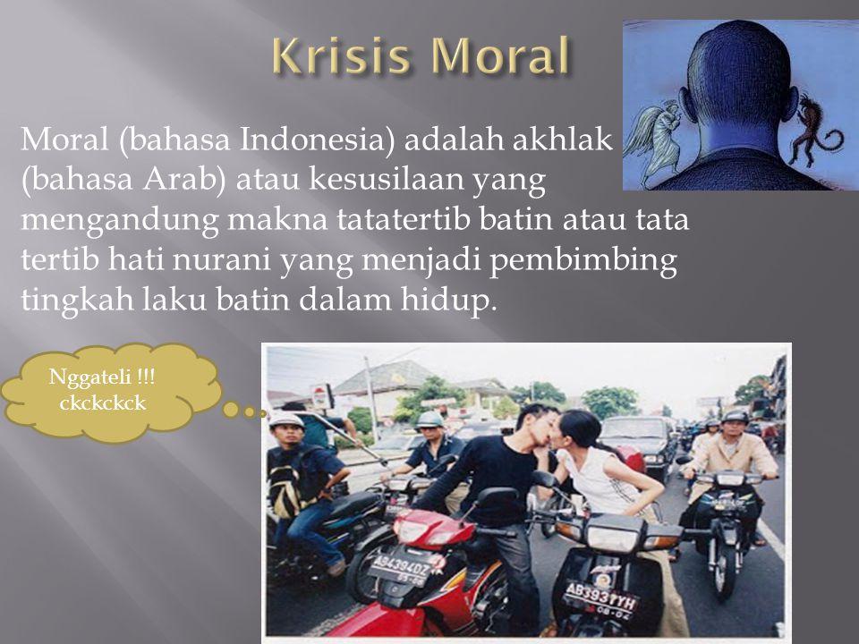 Krisis Moral