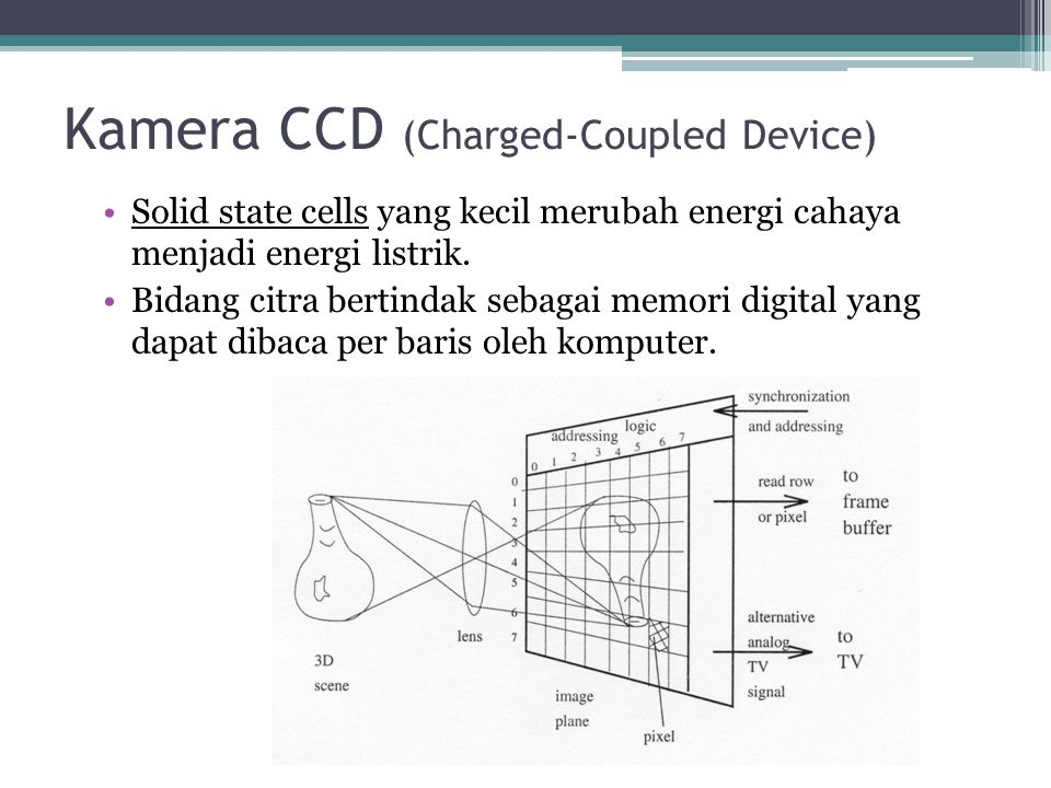 Kamera CCD (Charged-Coupled Device)