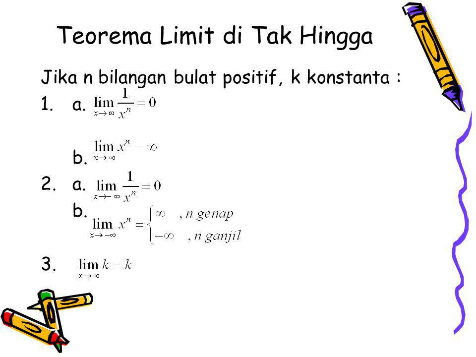 Teorema Limit di Tak Hingga