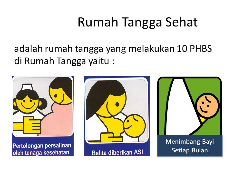 Menimbang Bayi Setiap Bulan