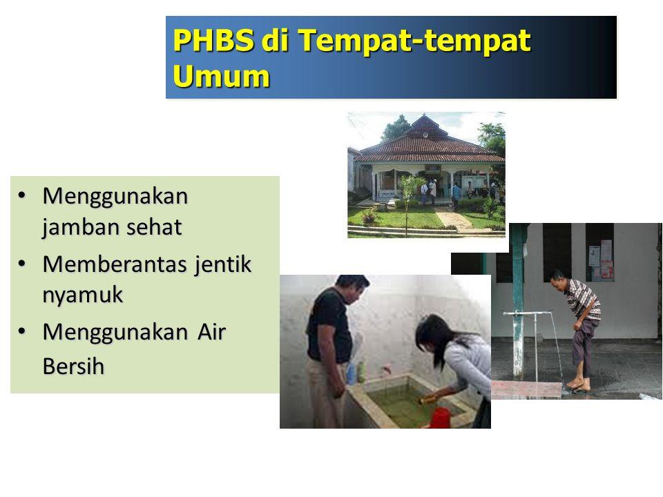 PHBS di Tempat-tempat Umum