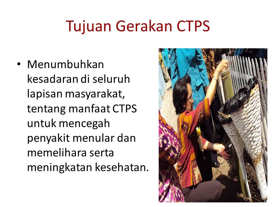Tujuan Gerakan CTPS