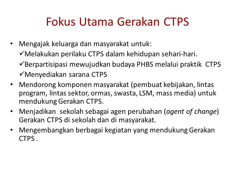 Fokus Utama Gerakan CTPS