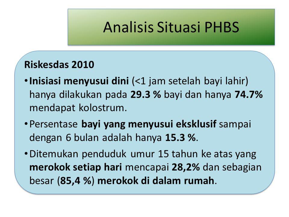 Analisis Situasi PHBS Riskesdas 2010