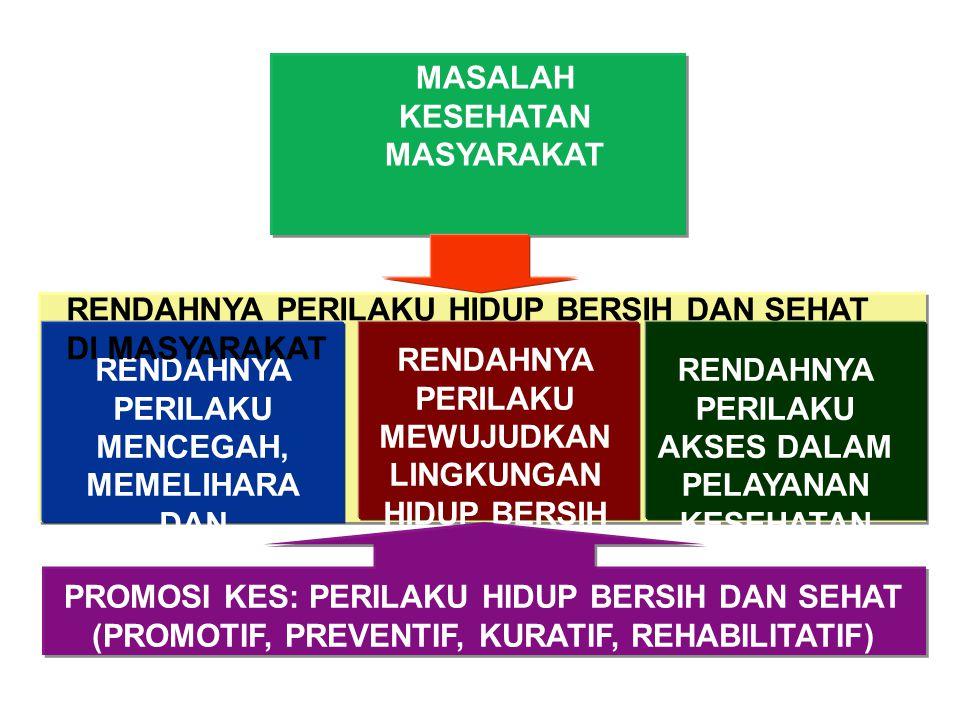 MASALAH KESEHATAN MASYARAKAT