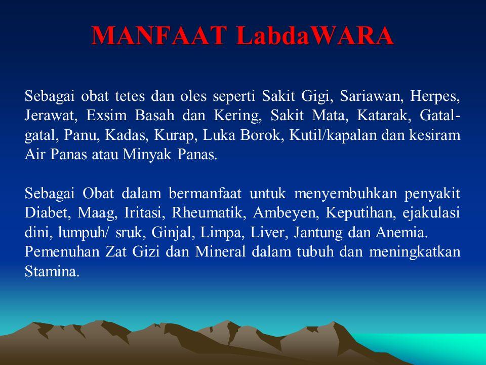MANFAAT LabdaWARA