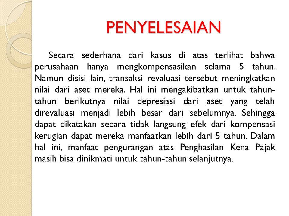 PENYELESAIAN