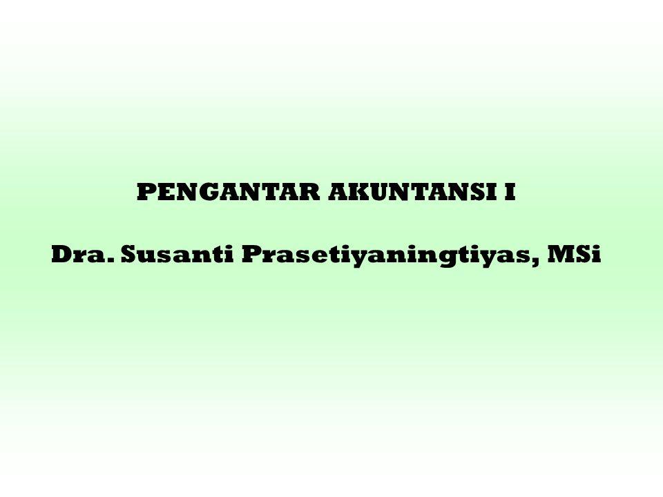 Dra. Susanti Prasetiyaningtiyas, MSi