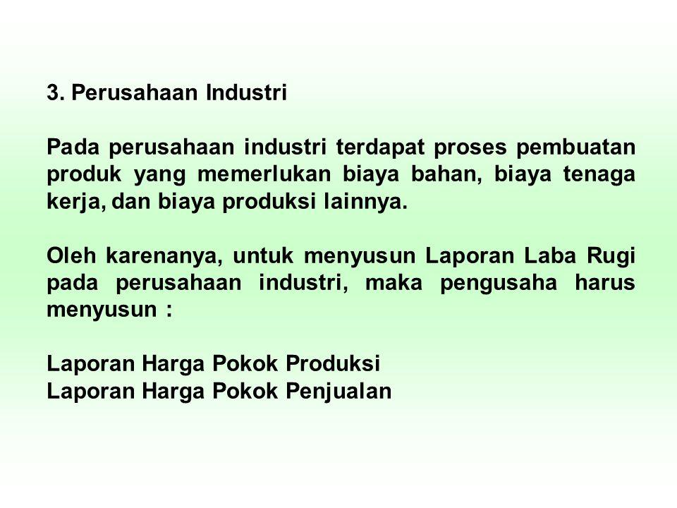 3. Perusahaan Industri