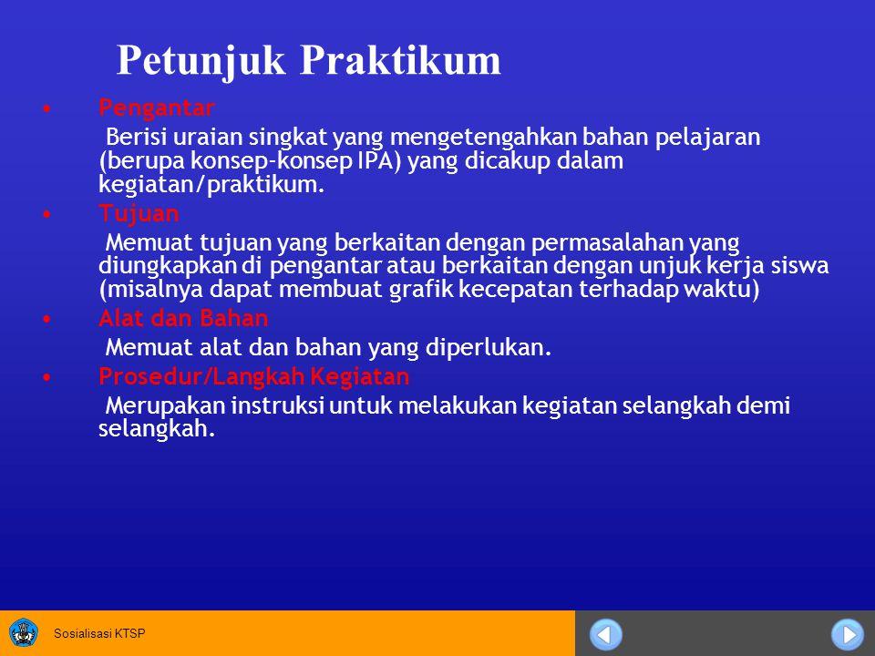 Petunjuk Praktikum Pengantar