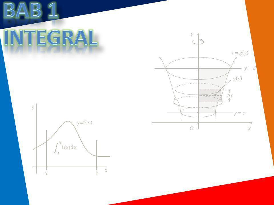 Bab 1 INTEGRAL