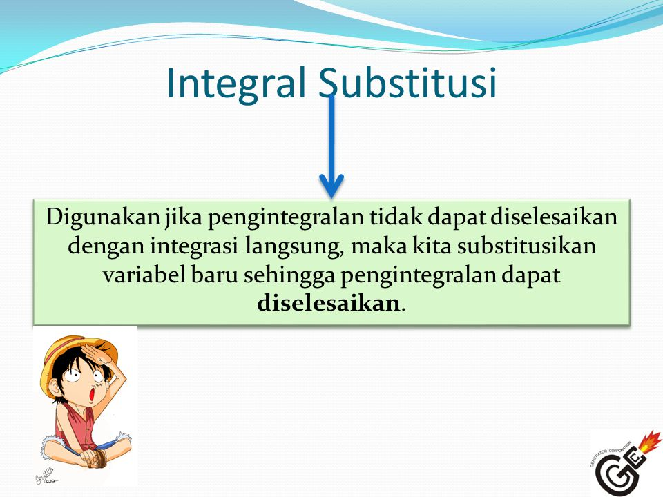 Integral Substitusi