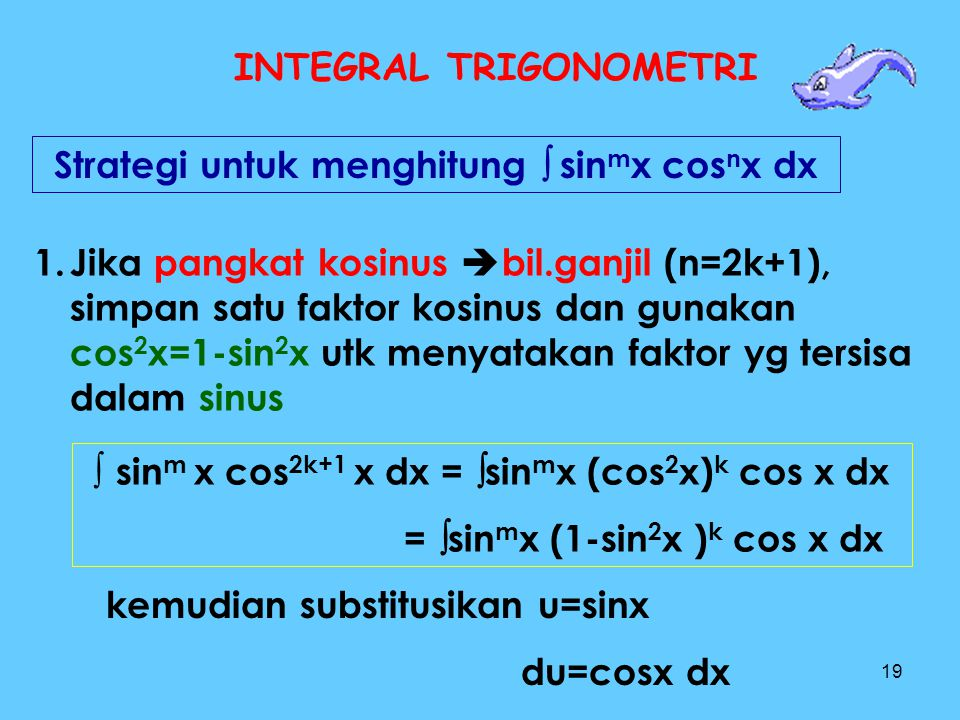 INTEGRAL TRIGONOMETRI