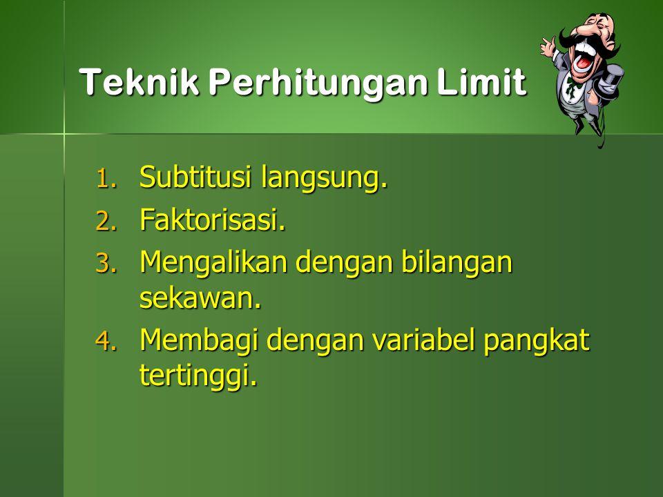 Teknik Perhitungan Limit