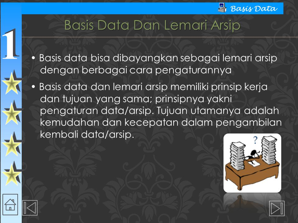 Basis Data Dan Lemari Arsip