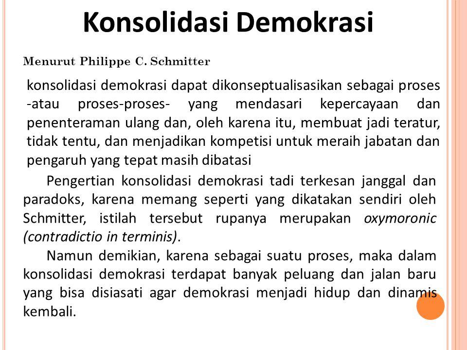 Konsolidasi Demokrasi