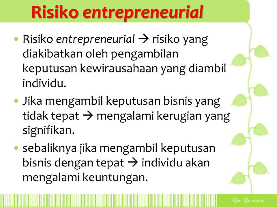 Risiko entrepreneurial