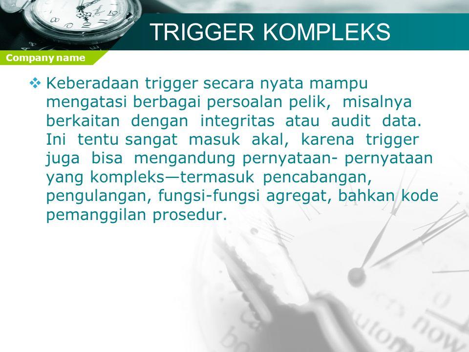 TRIGGER KOMPLEKS