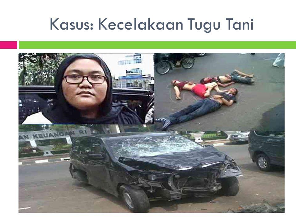 Kasus: Kecelakaan Tugu Tani