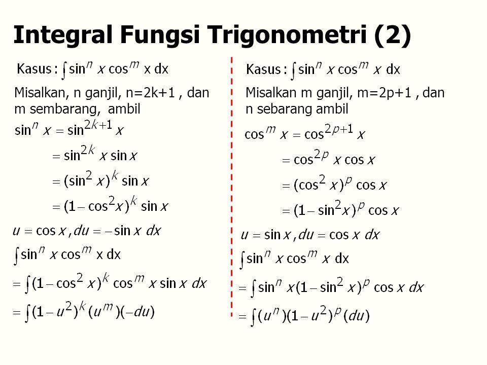 Integral Fungsi Trigonometri (2)