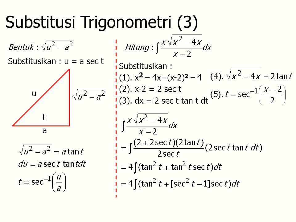Substitusi Trigonometri (3)