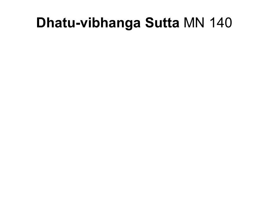 Dhatu-vibhanga Sutta MN 140