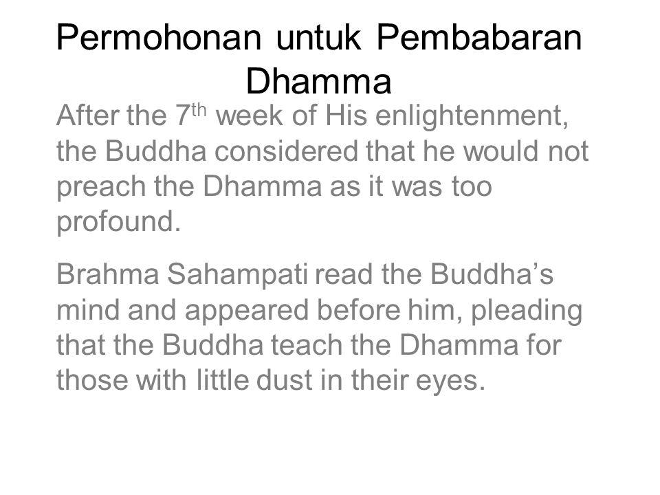 Permohonan untuk Pembabaran Dhamma