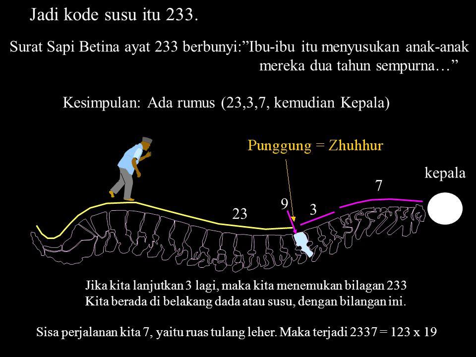 Kita katakan bahwa untuk N = 5, rumus 2NN berlaku untuk