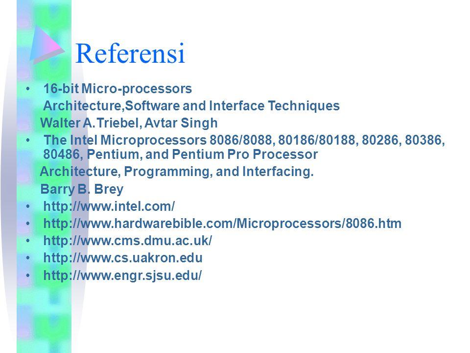 Referensi 16-bit Micro-processors