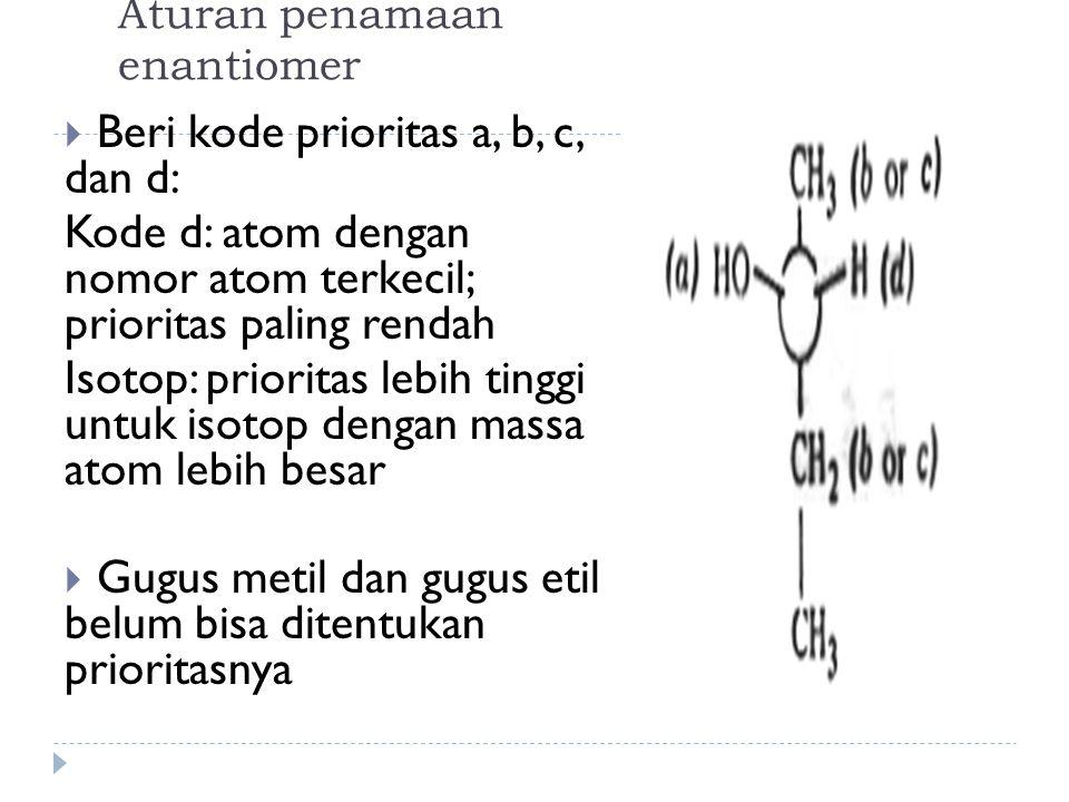 Aturan penamaan enantiomer