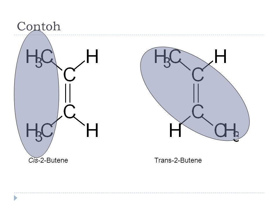 Contoh Cis-2-Butene Trans-2-Butene