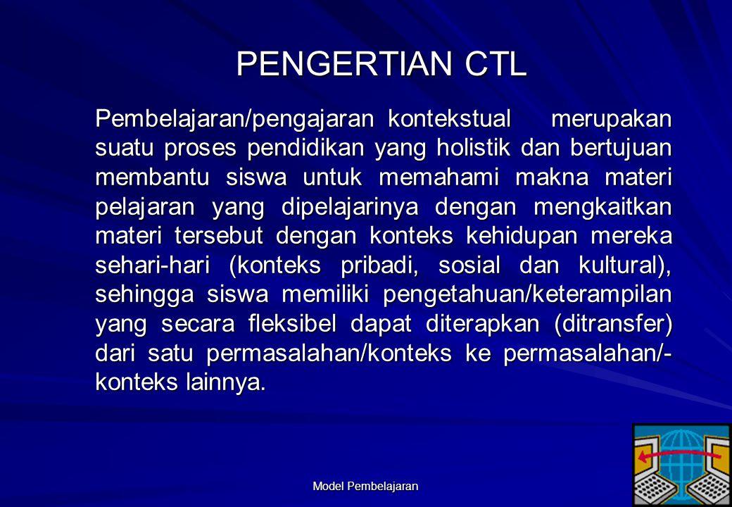 PENGERTIAN CTL