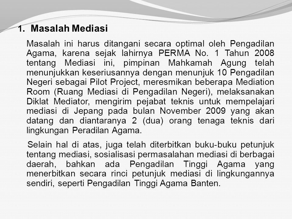 1. Masalah Mediasi