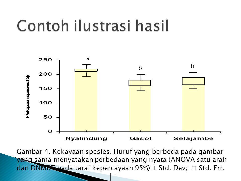 Contoh ilustrasi hasil