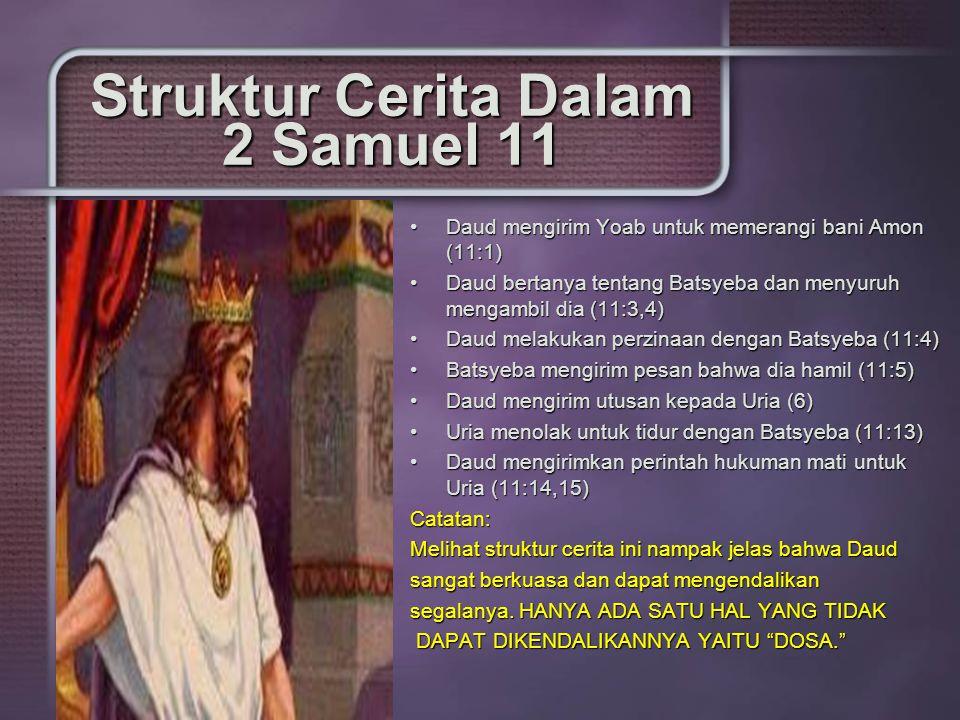 Struktur Cerita Dalam 2 Samuel 11