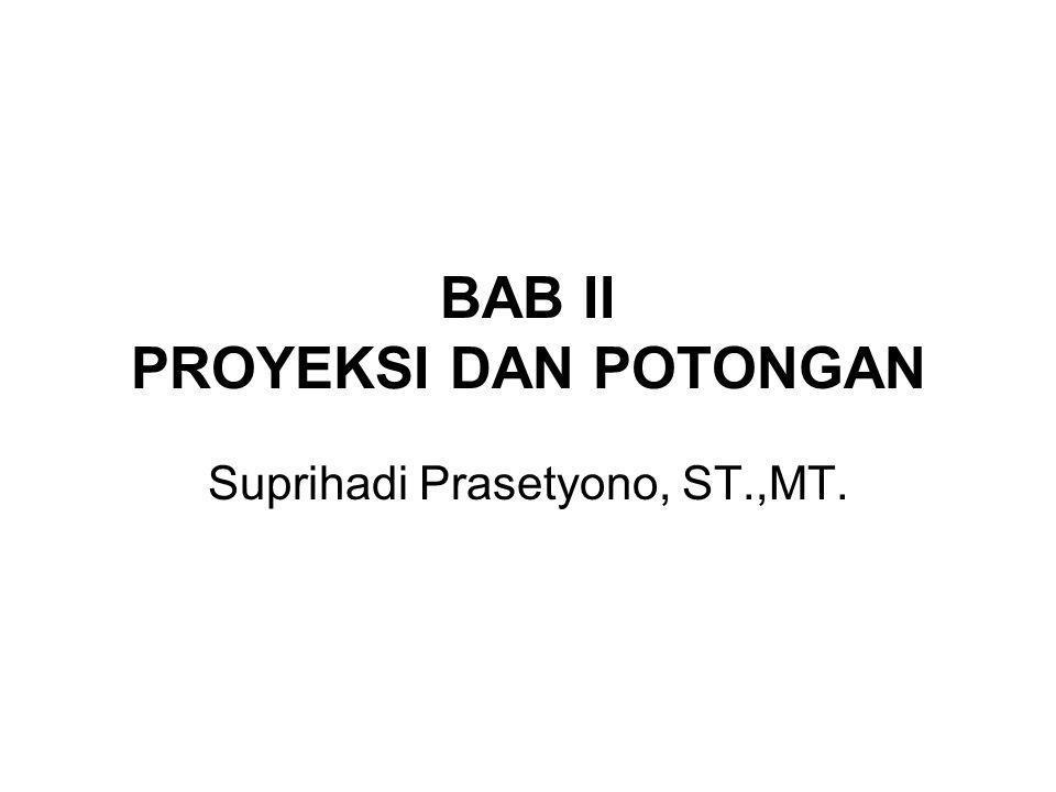 BAB II PROYEKSI DAN POTONGAN