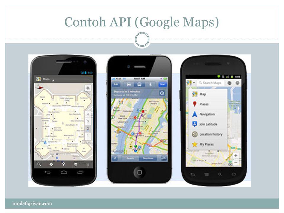 Contoh API (Google Maps)