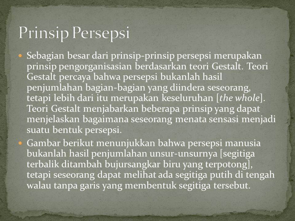 Prinsip Persepsi