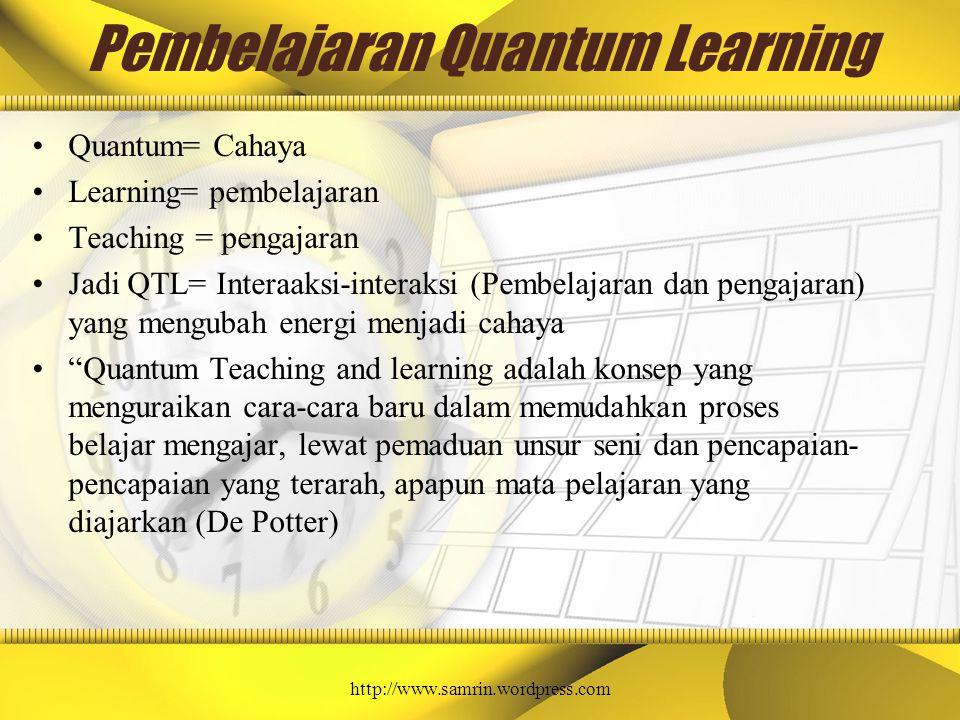 Pembelajaran Quantum Learning